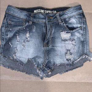 NWOT Mossimo Jean Short Shorts